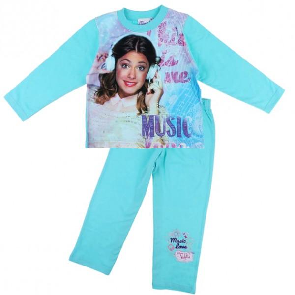 Baños Para Kinder Medidas:Detalles de Violetta – Niños Niñas Pijama (Talla 98 – 152)