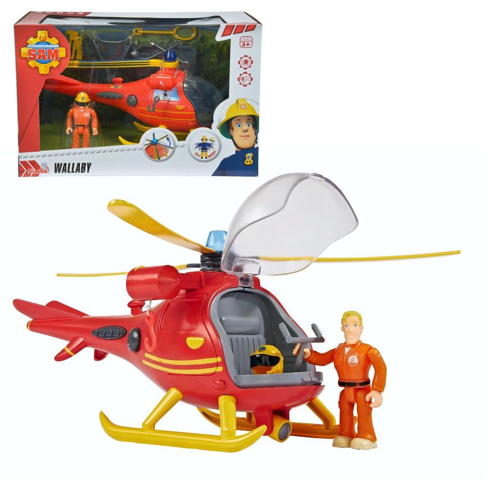 Elicottero Sam Il Pompiere : Sam il pompiere fireman mountain rescue helicopter