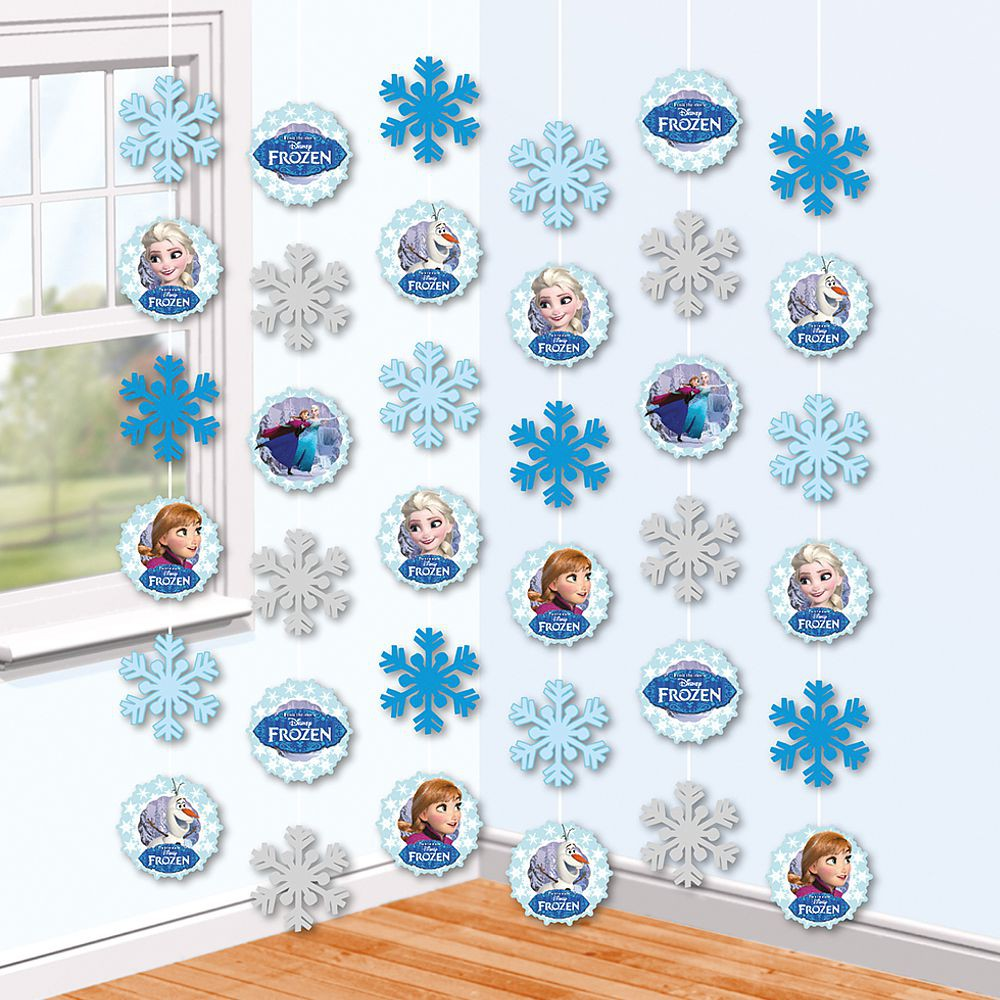 disney eisk nigin frozen party deko h nger zimmer. Black Bedroom Furniture Sets. Home Design Ideas