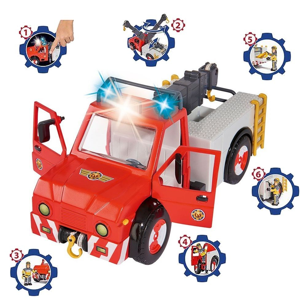 sam le pompier fireman sam v hicule animal rescue. Black Bedroom Furniture Sets. Home Design Ideas