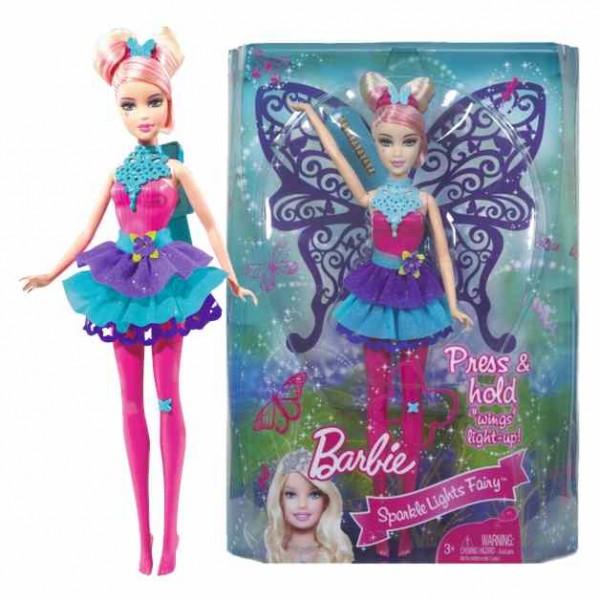 barbie puppe lichterflgel fee barbie blond