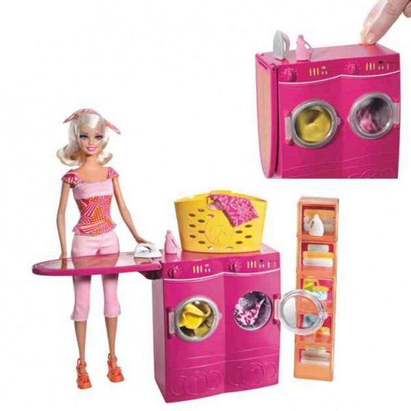 barbie m bel waschsalon ebay. Black Bedroom Furniture Sets. Home Design Ideas