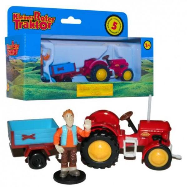 Kleiner roter traktor jan