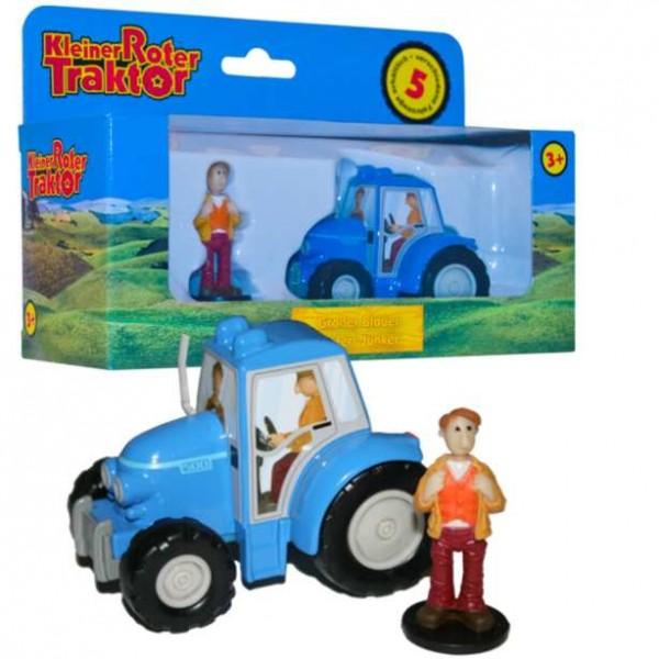 Kleiner roter traktor großer blauer herr junker ebay