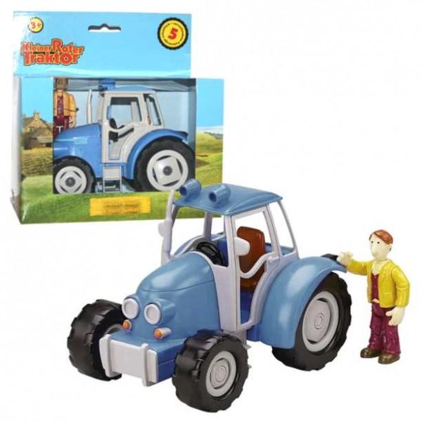 Kleiner roter traktor großer blauer junker kunststoff