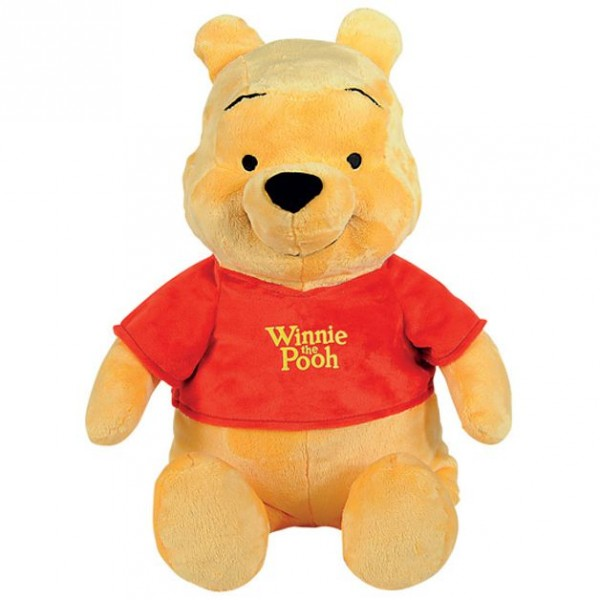Details about winnie the pooh plush figure pooh cuddly toy 35cm