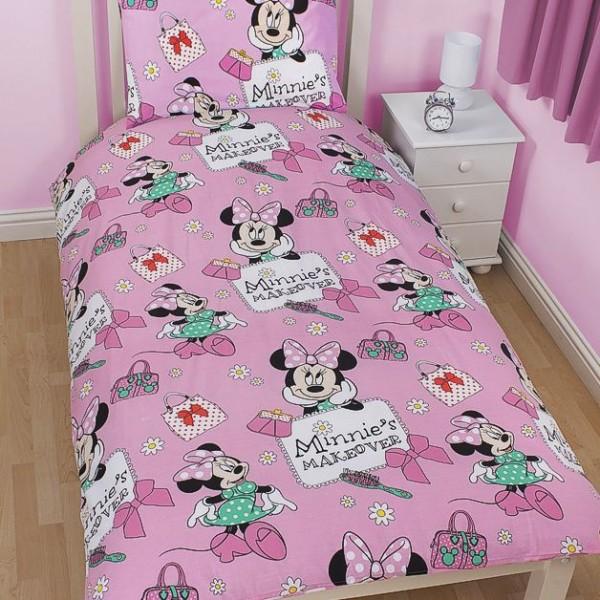 minnie maus wende bettw sche minnie mouse smile 75x50. Black Bedroom Furniture Sets. Home Design Ideas