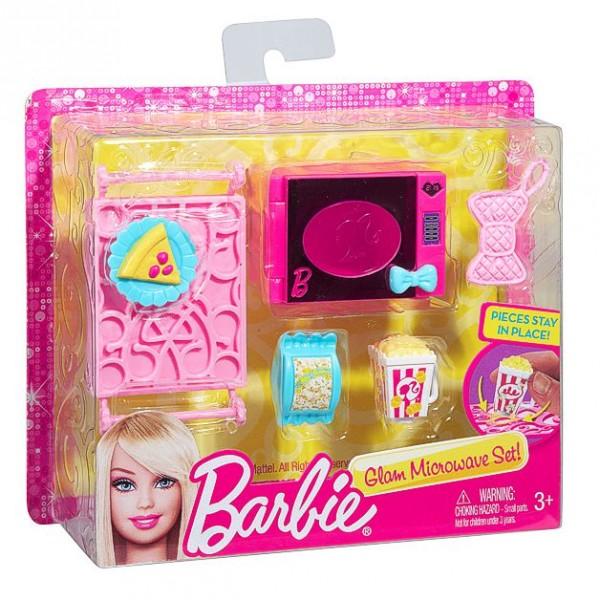 Barbie accesorios para casa set cocina microondas - Accesorios para cocina ...