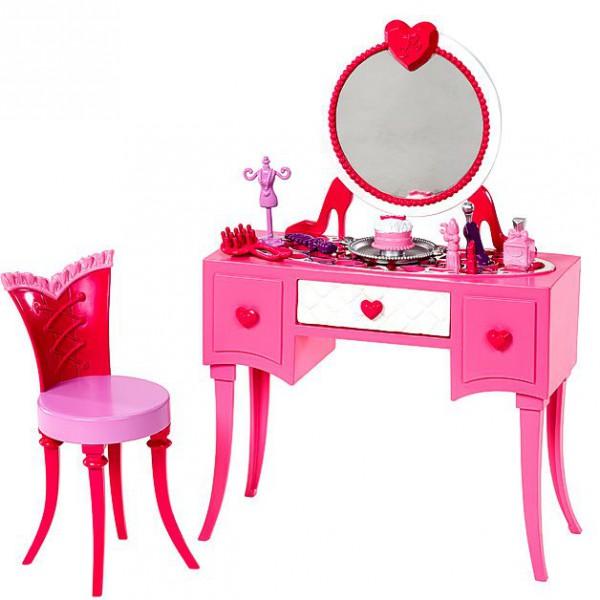 Barbie Mobili Arredamento Camera da Letto e Comodino Trucco  eBay