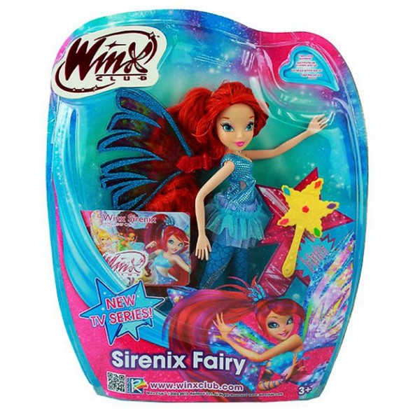Winx club sirenix fairy puppe fee bloom ebay - Winx mini fee ...