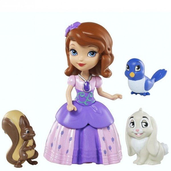 disney princess sofia die erste puppe sofia und tierfreunde ebay. Black Bedroom Furniture Sets. Home Design Ideas