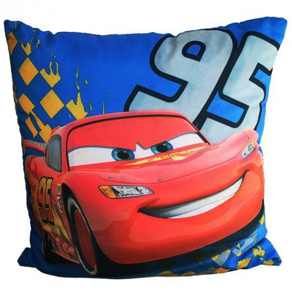 Disney Cars 2 - Kissen Lightning McQueen Sport 40x40 Cm