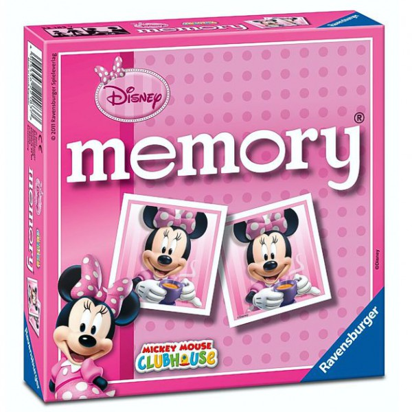 minnie mouse memory gioco mouse ebay. Black Bedroom Furniture Sets. Home Design Ideas