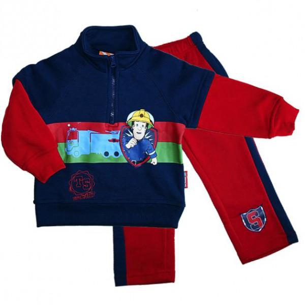 sam le pompier enfants surv tement jogging costume loisir taille 92 116 ebay. Black Bedroom Furniture Sets. Home Design Ideas