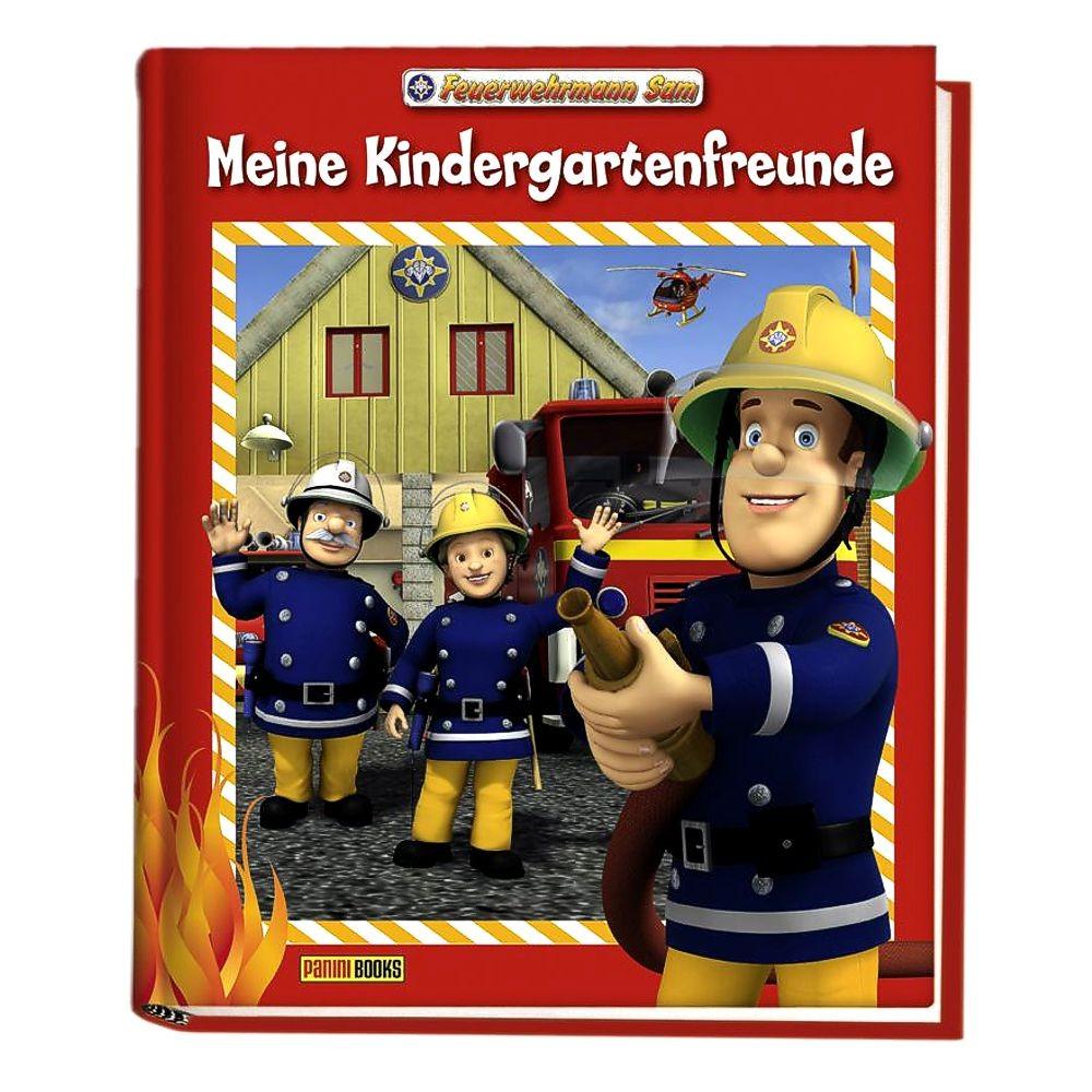 Feuerwehrmann sam buch meine kindergartenfreunde feuerwehrmann sam b cher - Feuerwehrmann sam wandbild ...