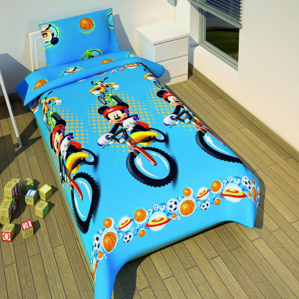 micky maus wende bettw sche mickey mouse goofy. Black Bedroom Furniture Sets. Home Design Ideas