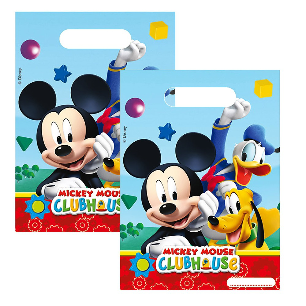 micky maus party geburtstag geschenkt ten 6 stk mickey mouse micky maus freunde party. Black Bedroom Furniture Sets. Home Design Ideas