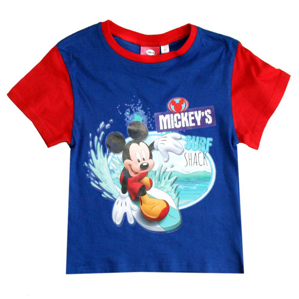 micky maus kinder t shirt mickey mouse sommer. Black Bedroom Furniture Sets. Home Design Ideas