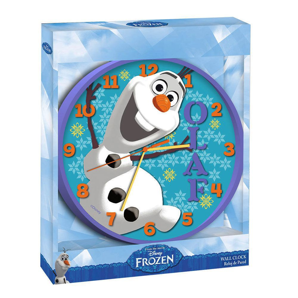 disney eisk nigin frozen wanduhr kinderzimmer uhr 24cm. Black Bedroom Furniture Sets. Home Design Ideas