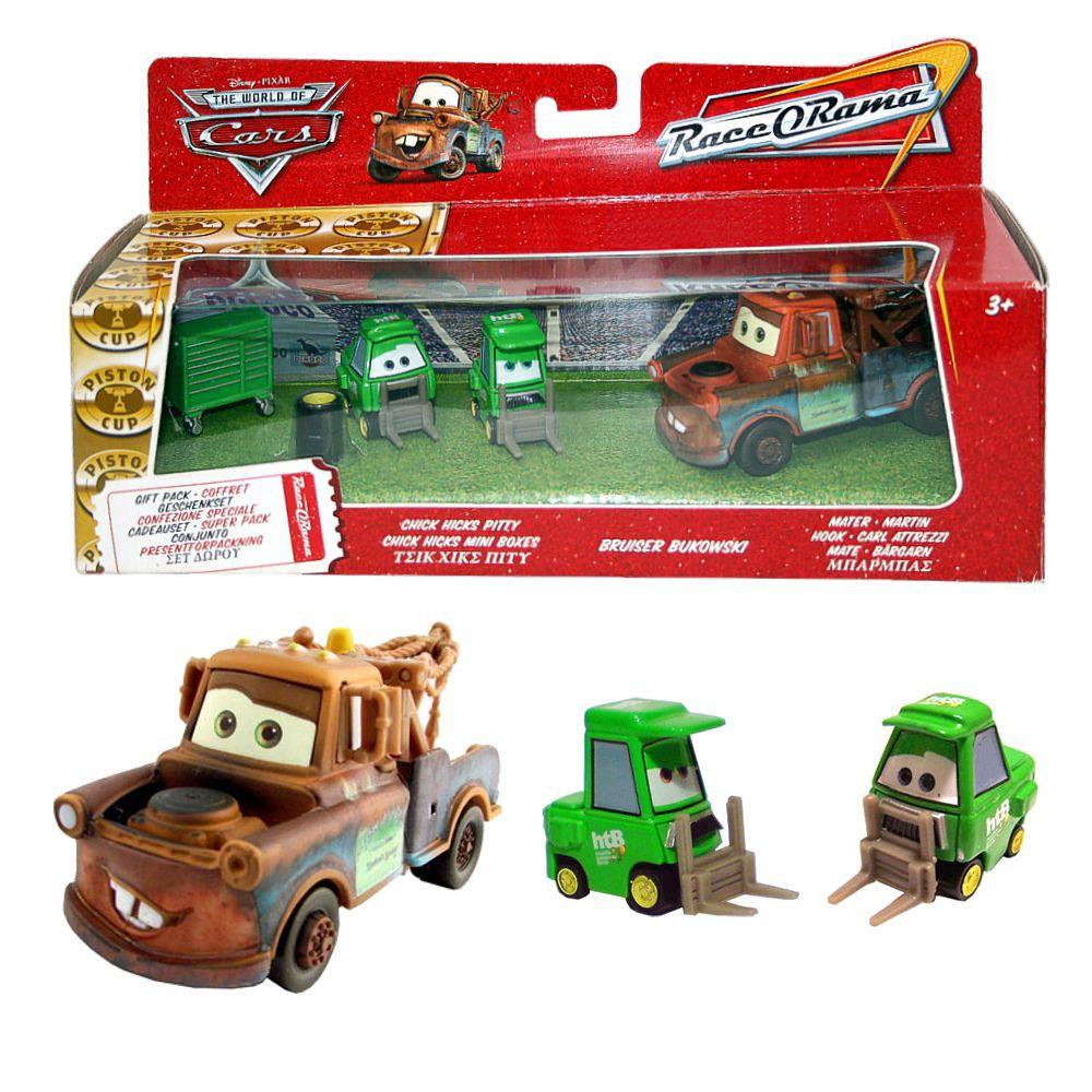 Disney cars cast gift pack auto fahrzeuge hook