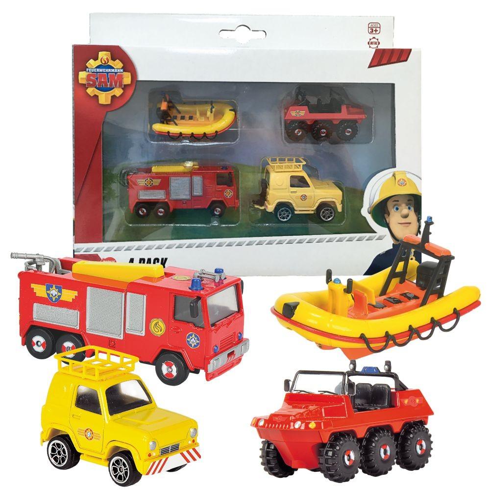 feuerwehrmann sam mini die cast serie set jupiter neptun hydrus jeep feuerwehrmann sam. Black Bedroom Furniture Sets. Home Design Ideas
