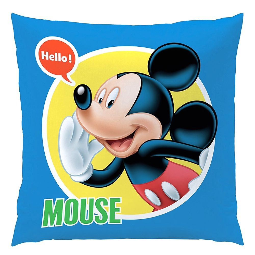 micky maus kinder kissen dekokissen mickey mouse expressions 40x40cm micky maus freunde. Black Bedroom Furniture Sets. Home Design Ideas