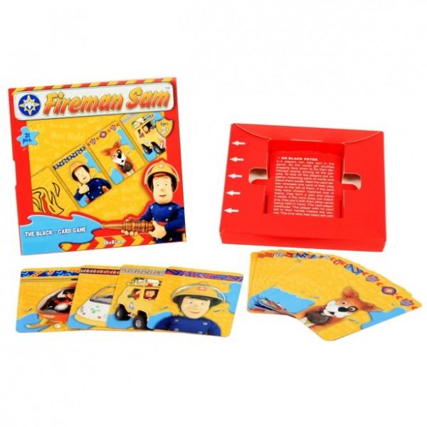 feuerwehrmann sam kartenspiel schwarzer peter feuerwehrmann sam puzzle spiele. Black Bedroom Furniture Sets. Home Design Ideas