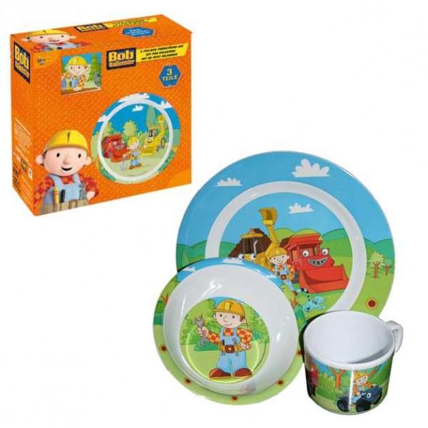 Kinder Tischunterlage ~ Bob der Baumeister  Kinder Geschirr, Frühstück Set onli