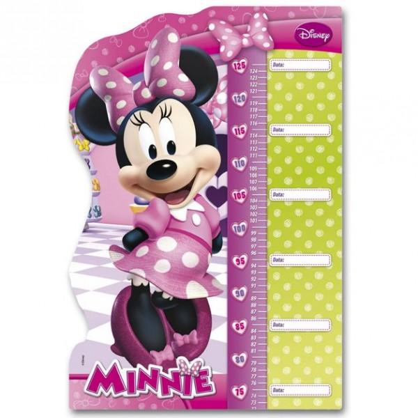 minnie maus puzzle messlatte mouse 62x42cm micky maus freunde spielwaren pl sch. Black Bedroom Furniture Sets. Home Design Ideas