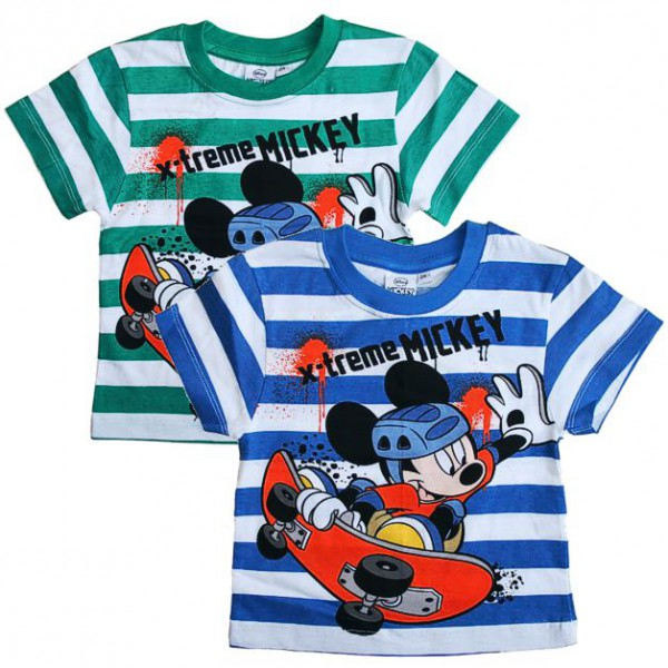 Micky Maus - Kinder T-Shirt Mickey Mouse Farbauswahl ( Gr. 86 - 116 )