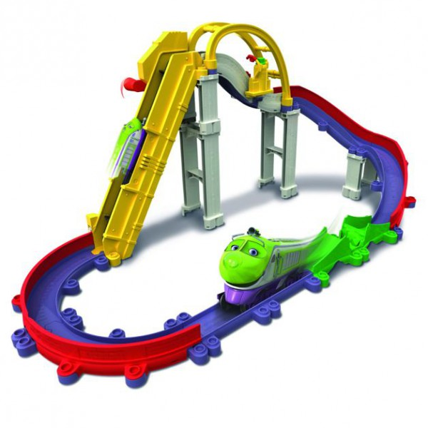 Chuggington - Die Cast - Set Service Station mit Förderband